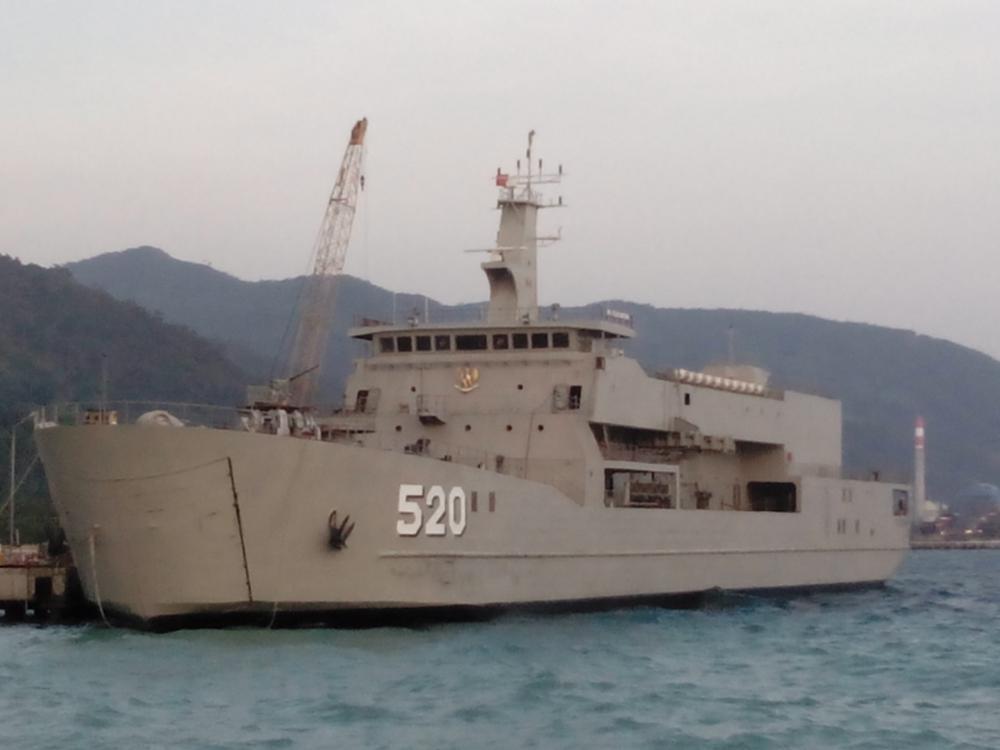 KRI Teluk Bintuni Sudah 95 Persen Siap Meluncur