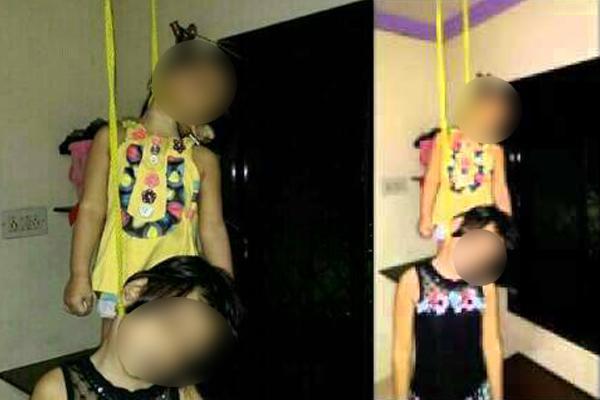 Dua Anak Digantung Gemparkan Warga Pesawaran
