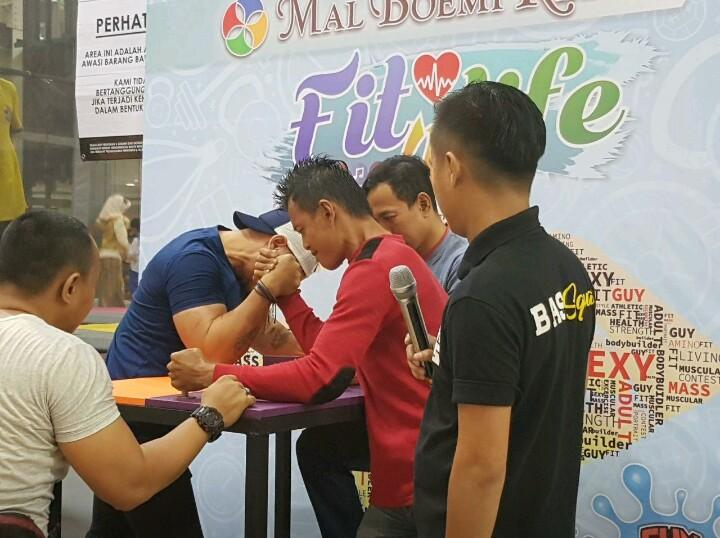 Fit for Life : Mall Boemi Kedaton Gelar Adu Panco Hingga Body Contest