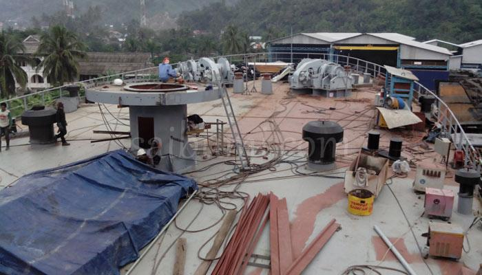 Pekerja Ahli, Rahasia PT DRU Selesaikan KRI Teluk Bintuni