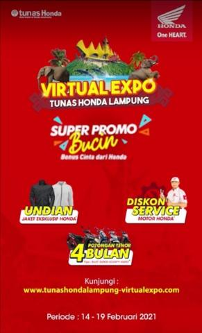 Dealer Honda NSS Kedaton Hadir di Virtual Expo 2021