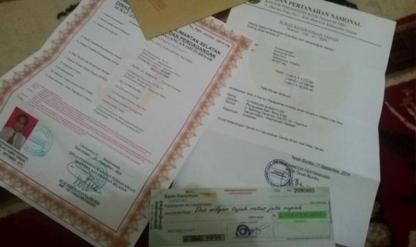 Surat Berharga Diduga Palsu Ditemukan Di Pesawaran