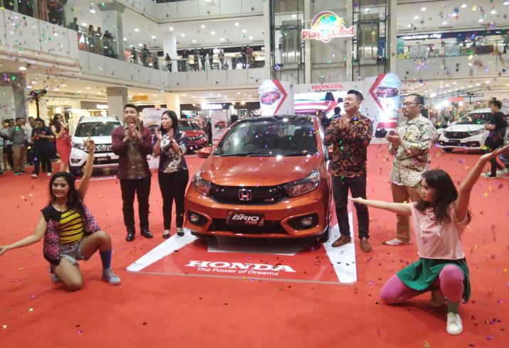 All New Honda Brio Siap Mengaspal Di Lampung