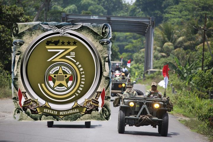 Anniversary Willys Owners Indonesia Ke-3